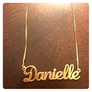 "Jewelry - ""Danielle"" name Necklace."